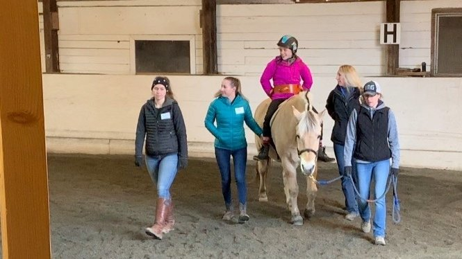 We love horsing around! Maci's adventure with hippotherapy & therapeutic riding