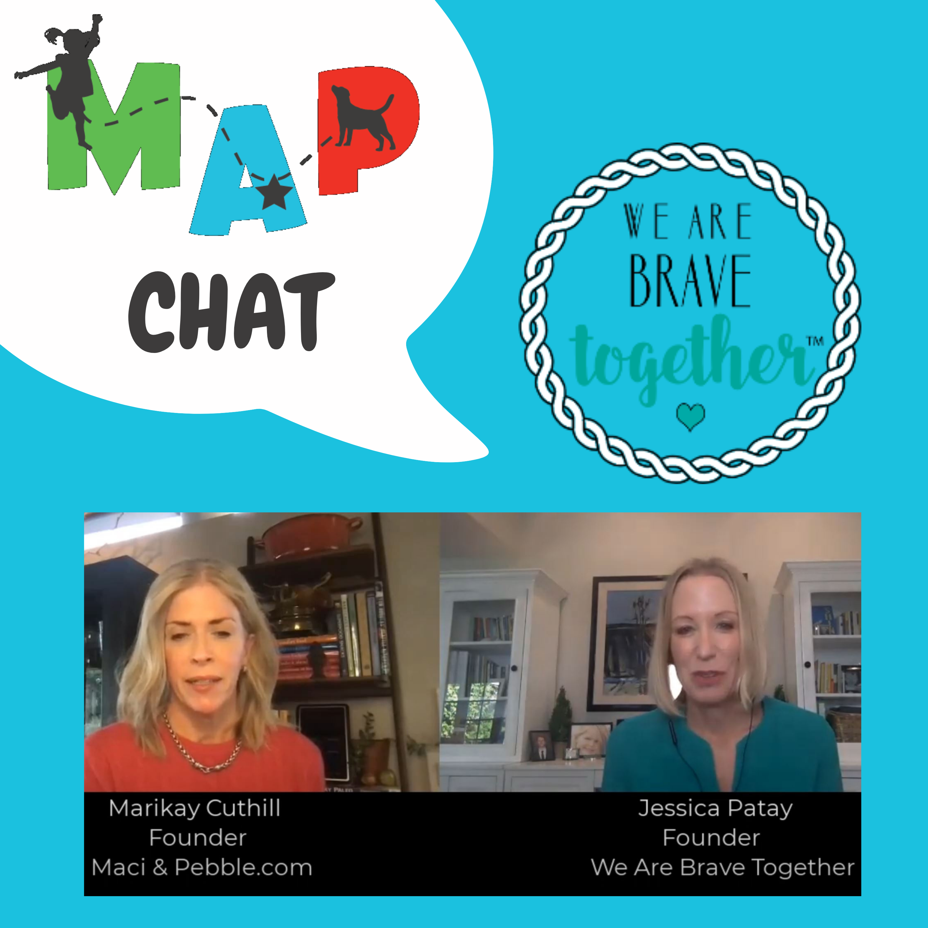 MAP Chat: We Are Brave Together